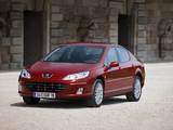 Peugeot 407 Sedan 2008–10 wallpapers