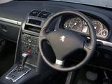 Photos of Peugeot 407 Coupé UK-spec 2005–11
