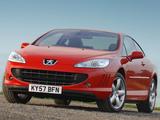 Pictures of Peugeot 407 Coupé UK-spec 2005–11