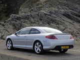 Peugeot 407 Coupe 2005–10 wallpapers