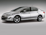 Peugeot 408 BR-spec 2011 wallpapers