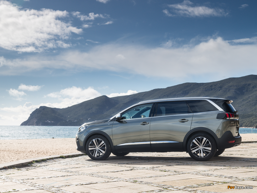 Pictures of Peugeot 5008 GT 2017 (1024 x 768)