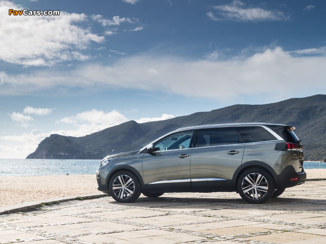 Pictures of Peugeot 5008 GT 2017 (640 x 480)