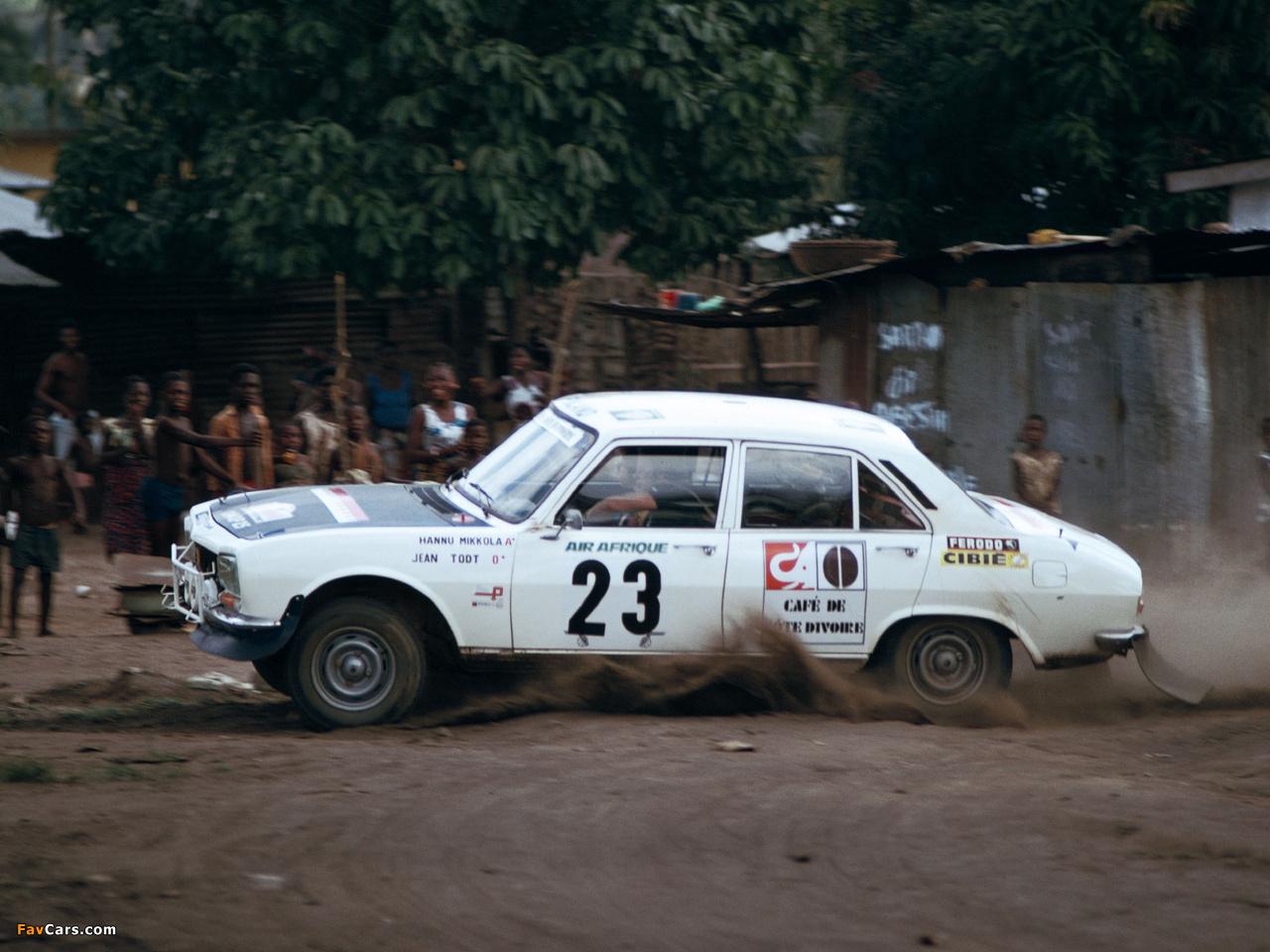 Peugeot 504 Rally Car 1968 83 Photos 1280x960