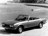 Peugeot 504 Cabriolet 1974–79 photos