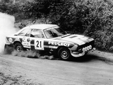 Peugeot 504 V6 Coupe Rally Car 1976–81 pictures