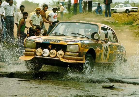 Pictures of Peugeot 504 Rally Car 1968–83