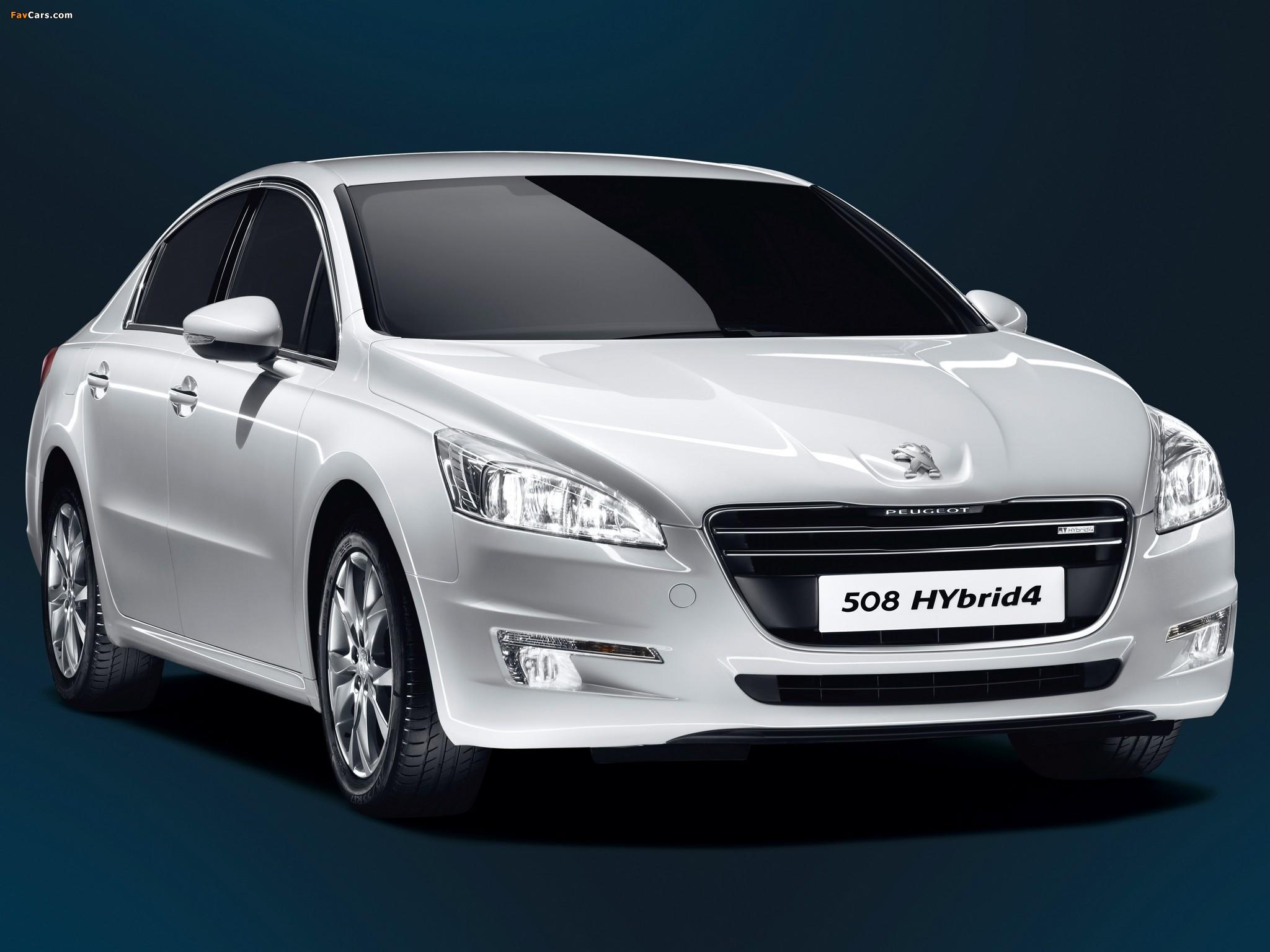 Images of Peugeot 508 HYbrid4 2012 (2048 x 1536)