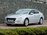 Peugeot 508 UK-spec 2011 photos