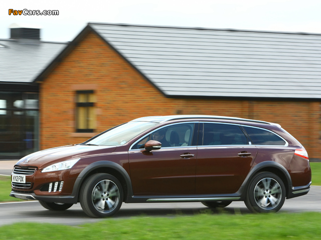 Peugeot 508 RXH UK-spec 2012 images (640 x 480)