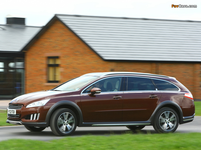 Peugeot 508 RXH UK-spec 2012 images (800 x 600)