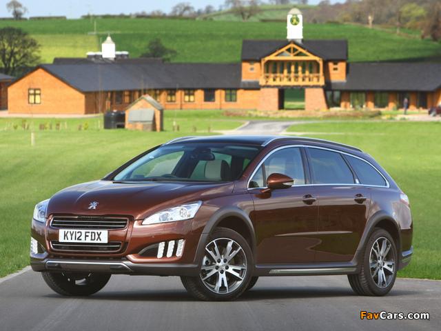 Peugeot 508 RXH UK-spec 2012 images (640 x 480)