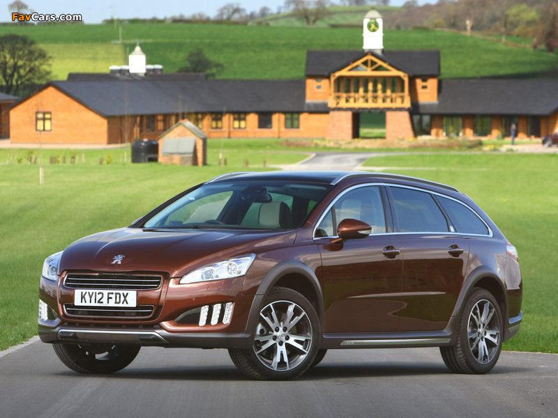 Peugeot 508 RXH UK-spec 2012 images (800 x 600)