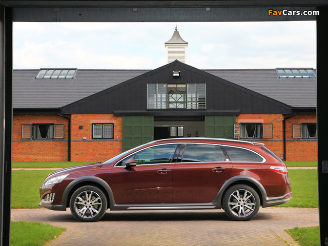 Peugeot 508 RXH UK-spec 2012 pictures (640 x 480)