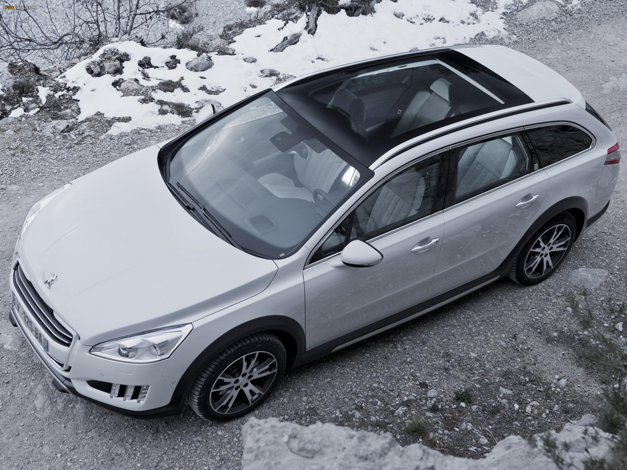 Peugeot 508 RXH 2012 pictures (2048 x 1536)