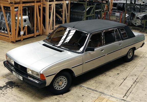 peugeot 604 heuliez limousine 1980 images. Black Bedroom Furniture Sets. Home Design Ideas