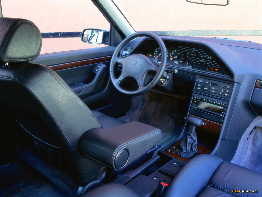 Peugeot 605 1989–99 photos (1024 x 768)