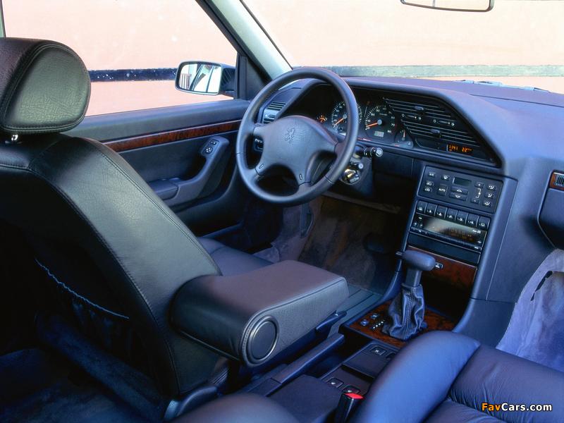 Peugeot 605 1989–99 photos (800 x 600)