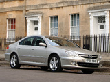 Images of Peugeot 607 UK-spec 2004–10