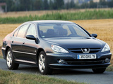 Peugeot 607 2004–10 pictures