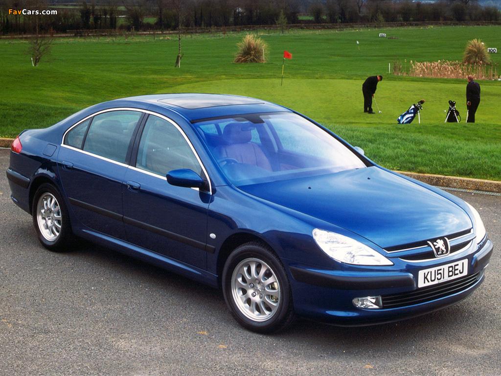 Photos of Peugeot 607 UK-spec 1999–2004 (1024 x 768)