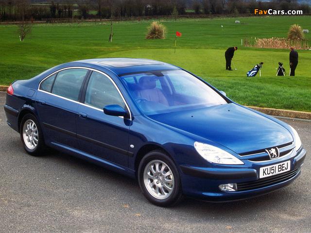 Photos of Peugeot 607 UK-spec 1999–2004 (640 x 480)