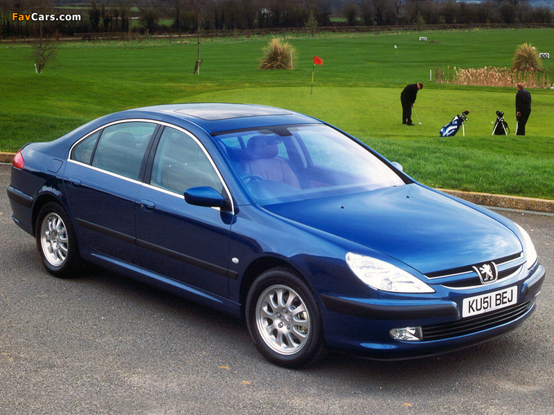 Photos of Peugeot 607 UK-spec 1999–2004 (800 x 600)