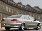 Photos of Peugeot 607 UK-spec 2004–10