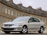 Peugeot 607 UK-spec 2004–10 wallpapers