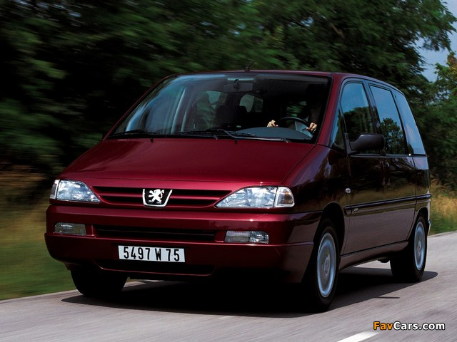 Peugeot 806 1998–2002 pictures (640 x 480)
