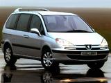 Photos of Peugeot 807 UK-spec 2002–07