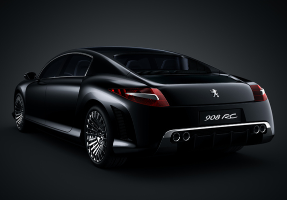 Peugeot 908 Rc Concept 2006 Wallpapers