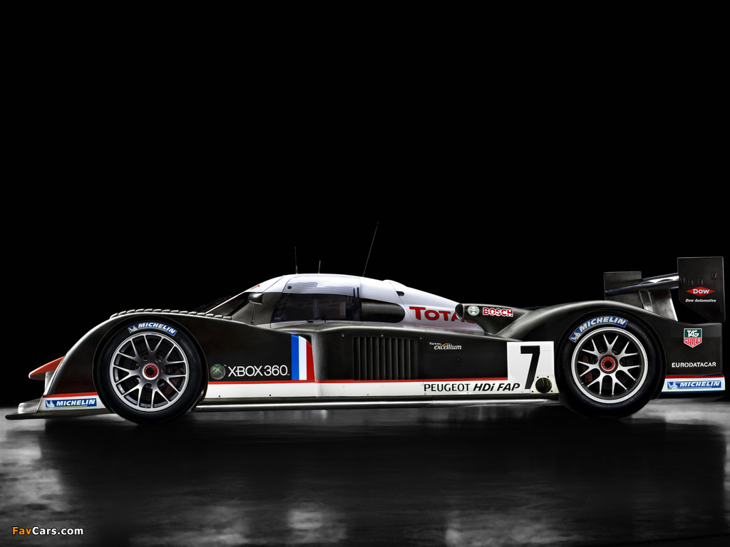 Peugeot 908 V12 HDi 2007 pictures (1024 x 768)