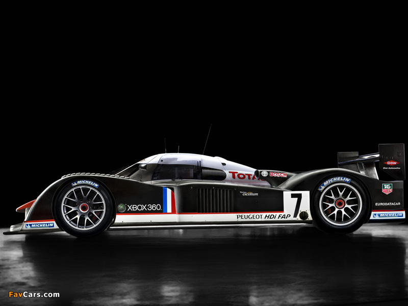 Peugeot 908 V12 HDi 2007 pictures (800 x 600)