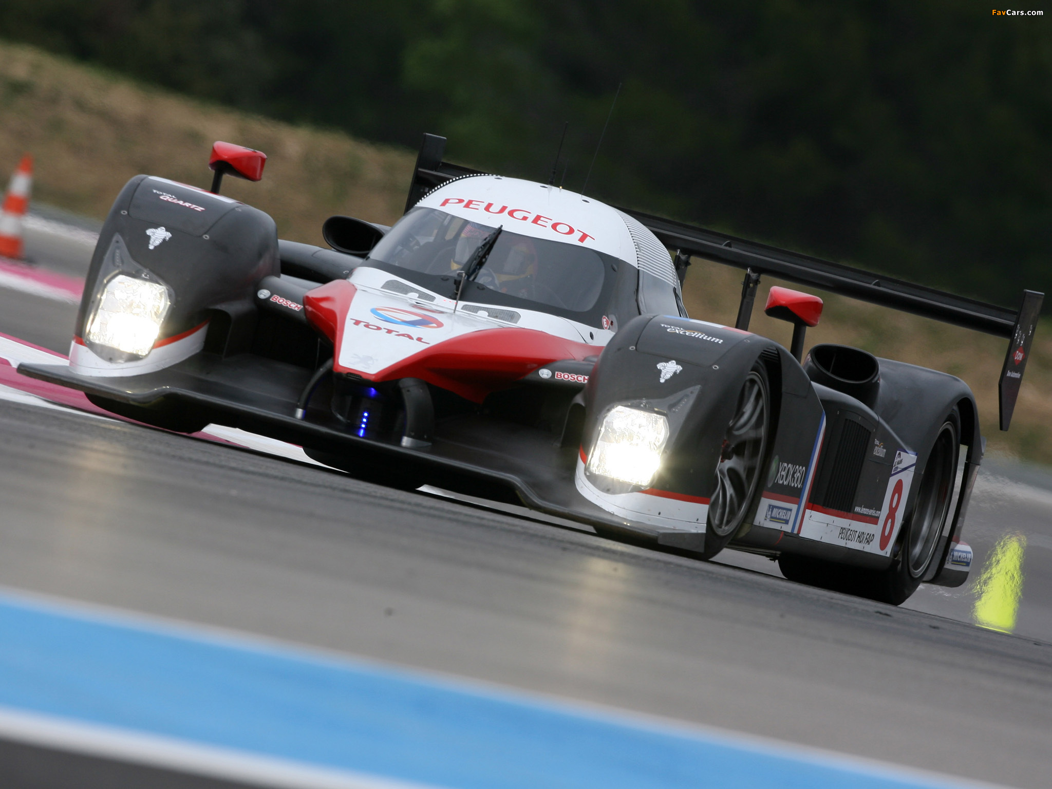 Peugeot 908 V12 HDi 2007 wallpapers (2048 x 1536)