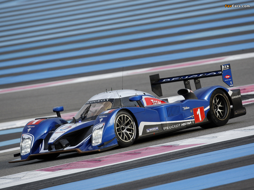 Peugeot 908 HDi FAP 2010 pictures (1024 x 768)