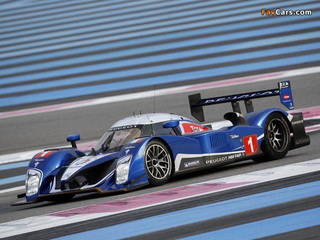 Peugeot 908 HDi FAP 2010 pictures (640 x 480)