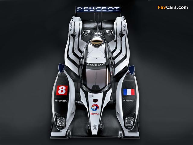 Peugeot 908 HY 2011 images (640 x 480)