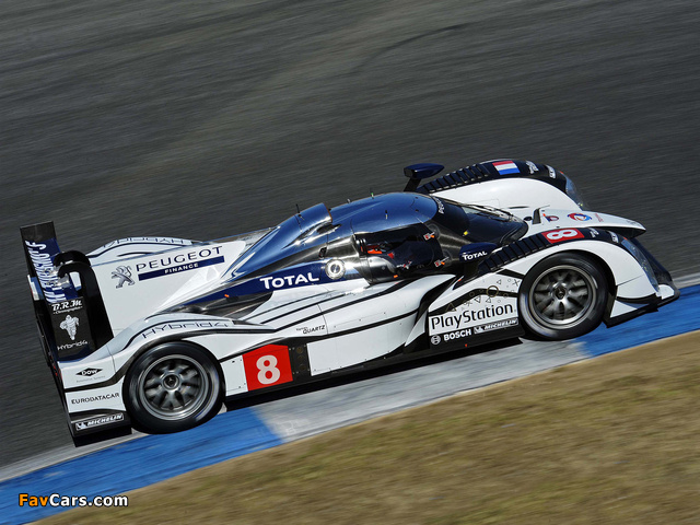 Peugeot 908 HY 2011 wallpapers (640 x 480)