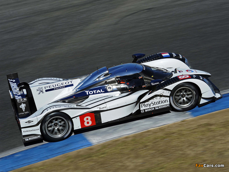 Peugeot 908 HY 2011 wallpapers (800 x 600)