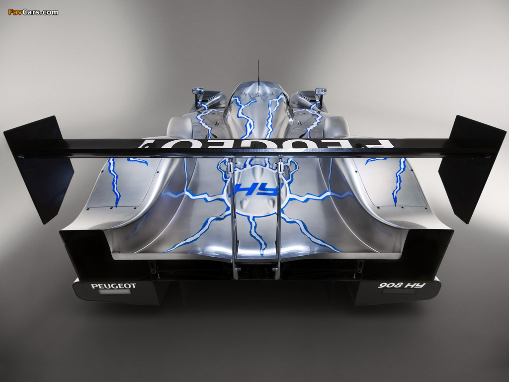 Photos of Peugeot 908 HY 2008 (1024 x 768)