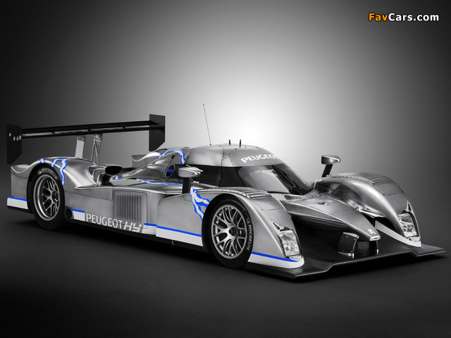 Photos of Peugeot 908 HY 2008 (640 x 480)