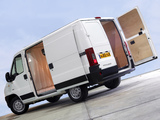 Peugeot Boxer Van UK-spec 2002–06 wallpapers