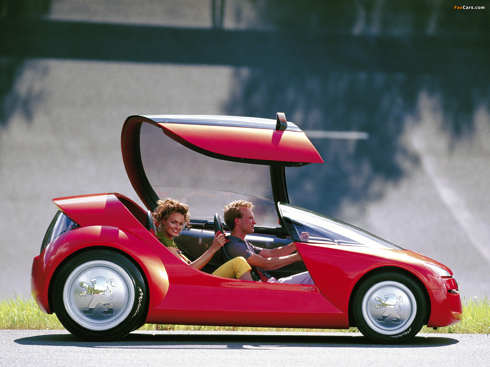 Images of Peugeot Bobslid Concept 2000 (1600 x 1200)