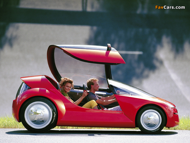 Images of Peugeot Bobslid Concept 2000 (640 x 480)