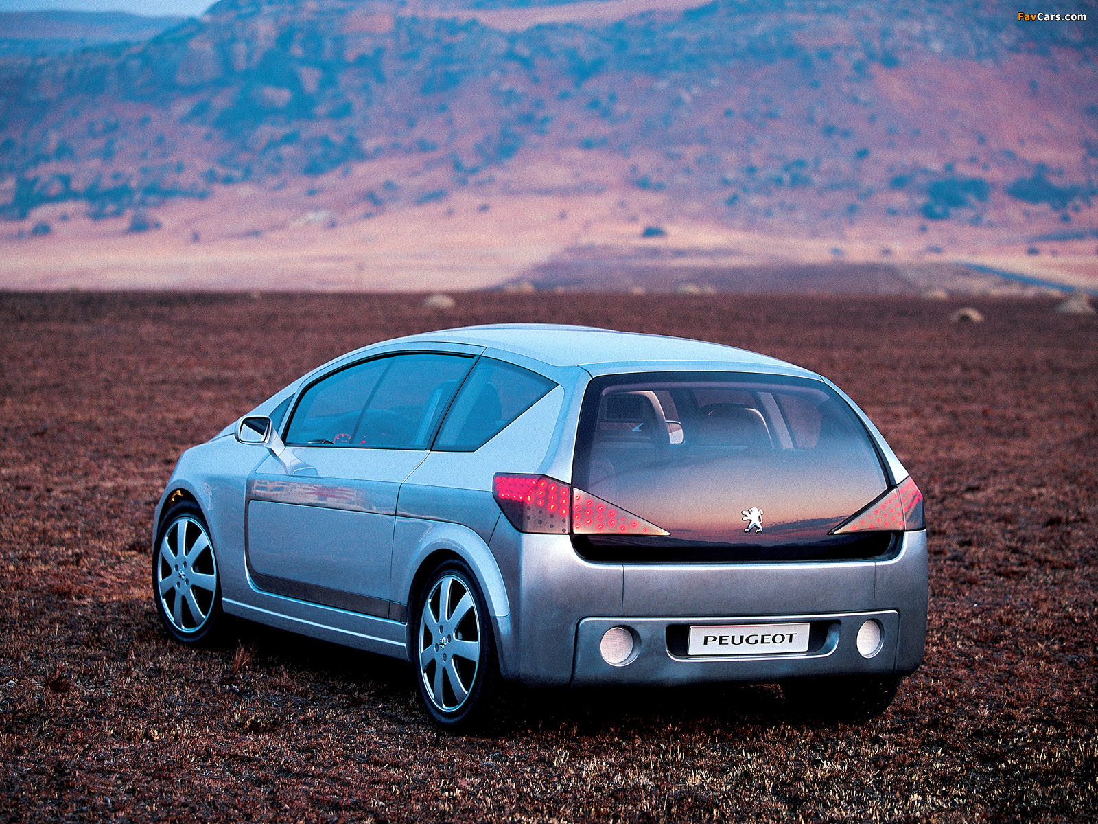 Images of Peugeot Promethee Concept 2000 (1600 x 1200)