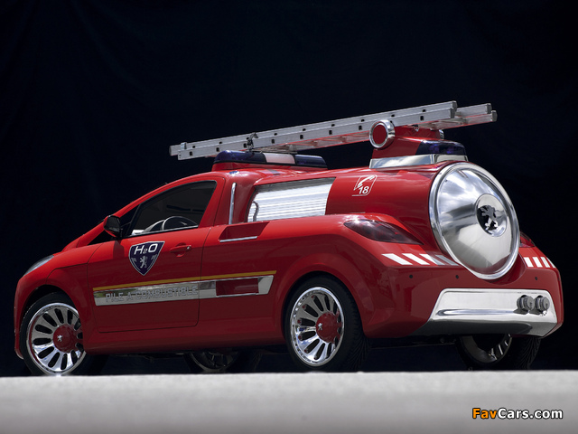Images of Peugeot H2O Concept 2002 (640 x 480)