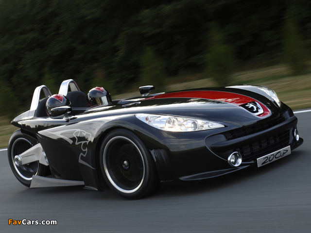 Images of Peugeot 20Cup Concept 2005 (640 x 480)