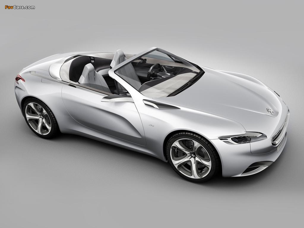 Images of Peugeot SR1 Concept 2010 (1024 x 768)