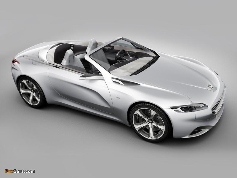 Images of Peugeot SR1 Concept 2010 (800 x 600)